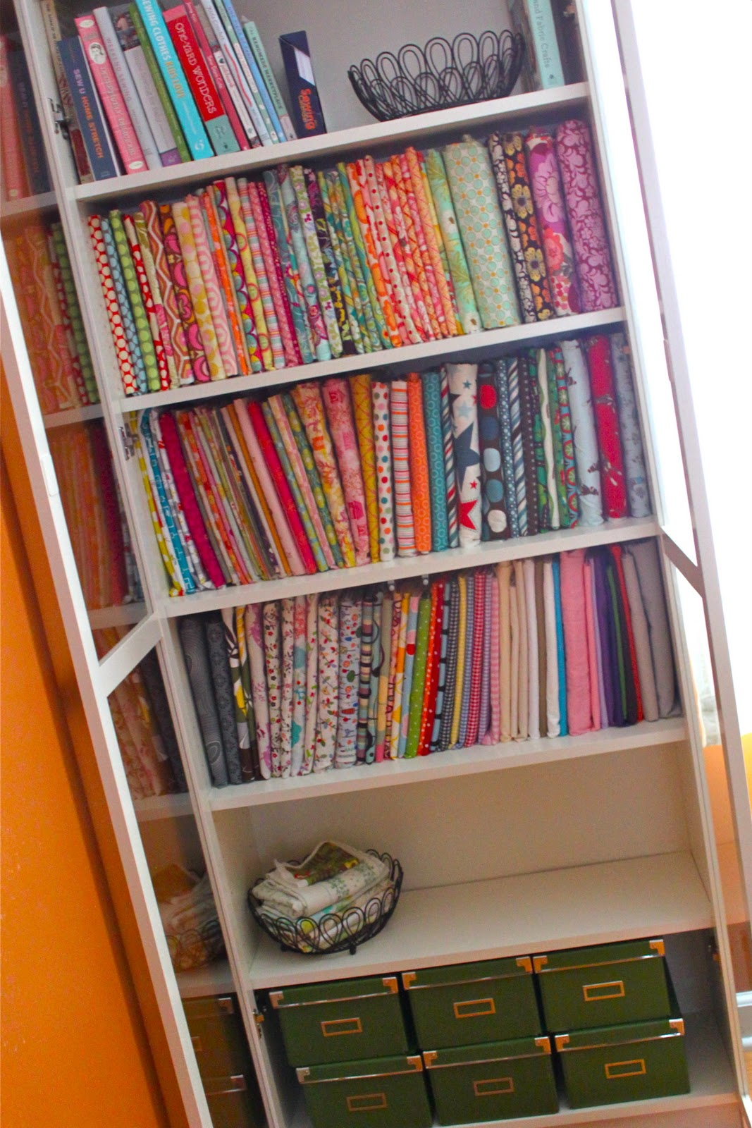 Comic Book Storage Cabinets Mini Fabric Bolts And Some Studio Organization Smashed Peas