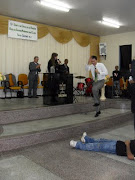 Pregando no Congreso em Rio Azul e Kelly Cantando
