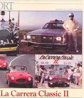 Craig Peterson and the Cannonball Ford at La Carrera Classic road race in Ensenada, Mexico
