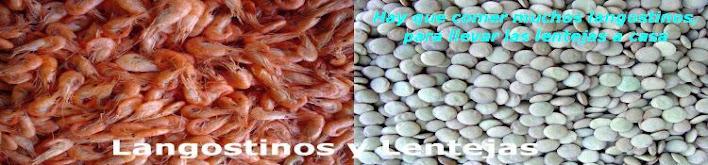 Langostinos y Lentejas _ Hemeroteca