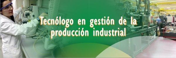Técnologos en Gestión de la Producción Industrial