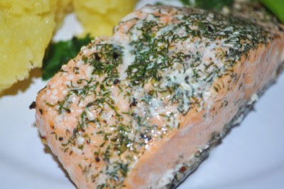 how to cook salmon in tin foil in the oven