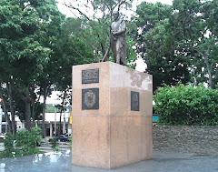 Estatua del Libertador en Upata