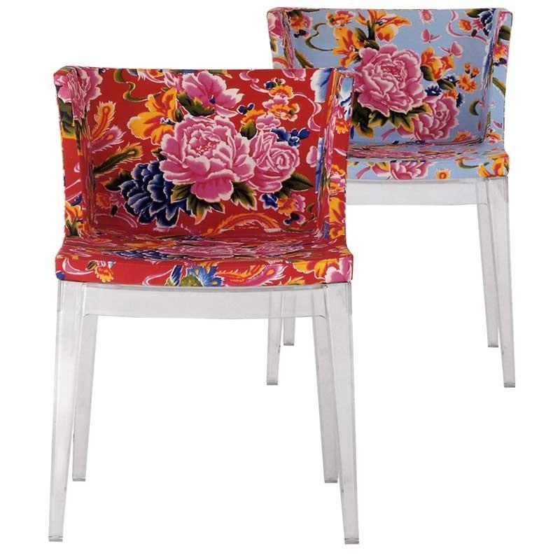 Philippe Starck S Missoni Fabric Mademoiselle Chair: Neudecor: September 2010