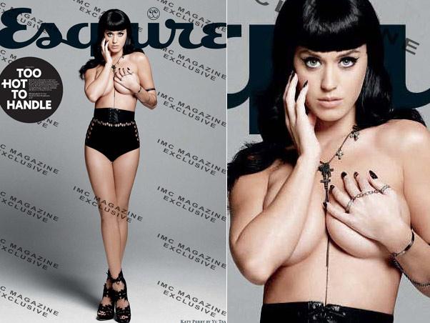 Katy Perry Posa Para A Capa Da Revista Esquire De Agosto Fazendo