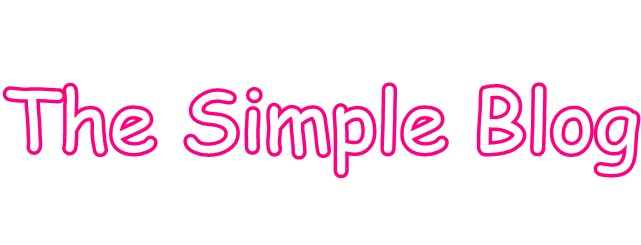 The Simple Blog