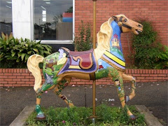 Carousel Horses Around Meridian