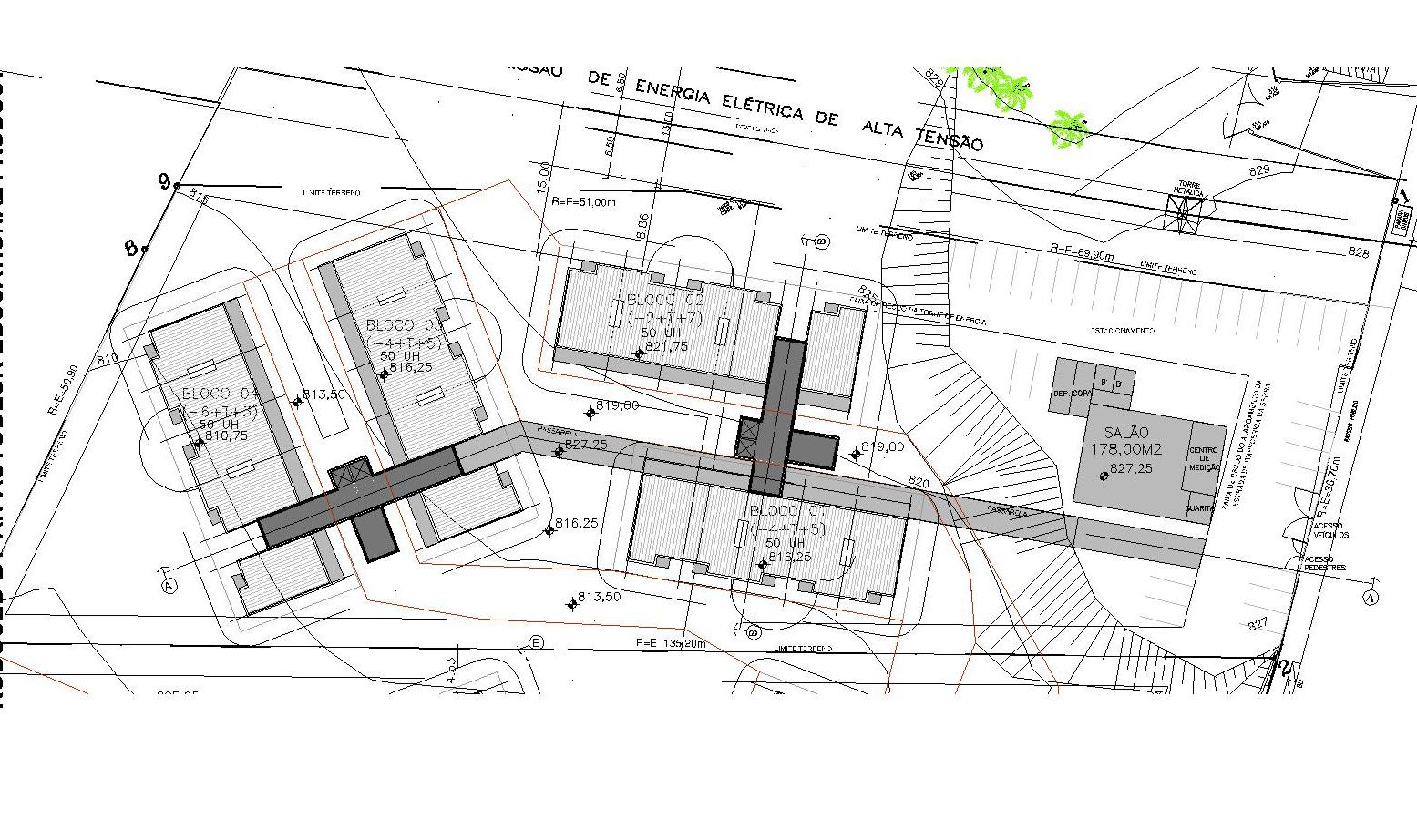 Condomínio Dom José II: Projeto #6AAF1C 1555 922