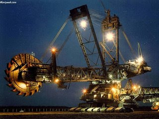 Largest vehicle in the World - Bagger 288