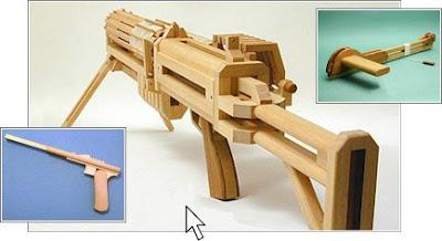 Wood gun