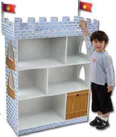 Bookshelf Castle Bookcase