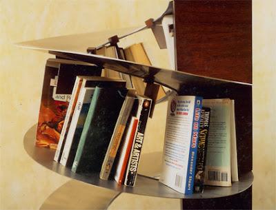 Bookshelf Spiral Shelving