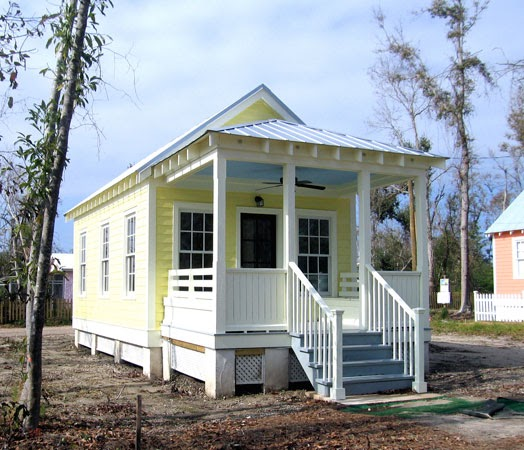 Shedworking cusato cottages for Katrina homes
