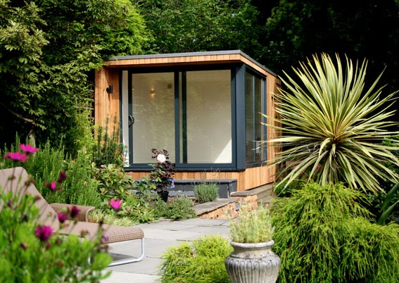 Shedworking fusion shed trend continues for Oeco garden office
