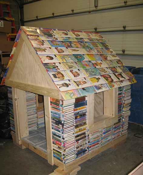 Bookshelf book nook - Bricolage equipement de la maison ...