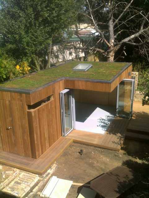 Shedworking the longhirst project garden office for Luxury garden office