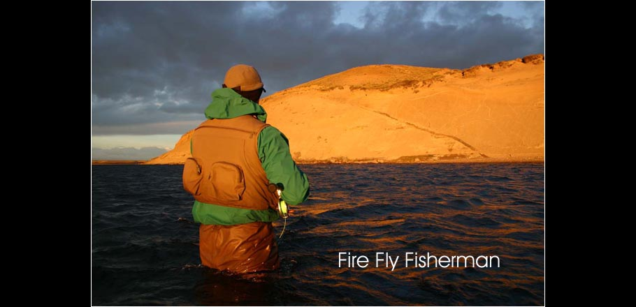 Fire Fly Fisherman