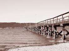 Sepia Pier