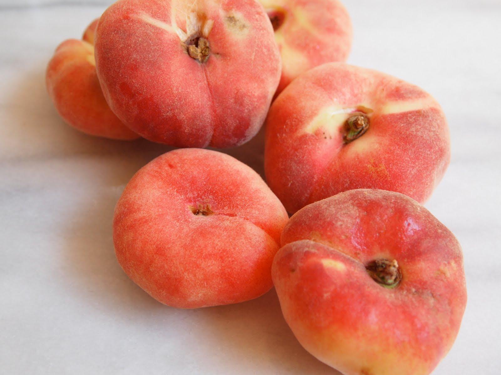 Donut peach donuts