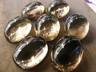 smoky quartz cabochon
