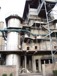 Image of an activated carbon factory in Datong, China