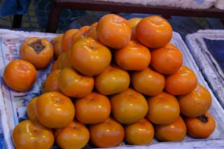 Image of Persimmons looking placid