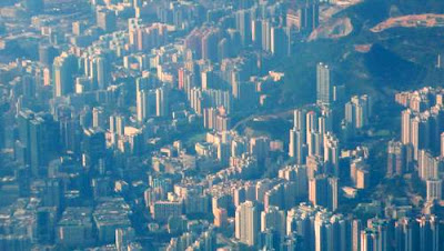 Close-up image of Hong Kong near where your scribe, Heroine, and Hero dwell.