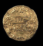 Gold Dinar from Offa
