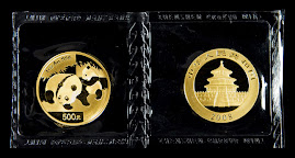 Chinese Panda 2008 Gold Coins From China