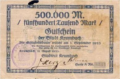 Jatuhnya Nilai Uang Kertas di Jerman  th 1923 terulang di Zimbabwe 2008