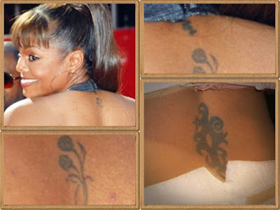 Tweety Bird and initials tattoo. Althrough she has [lenty of tattoos.most