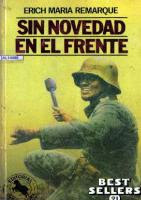 Sin Novedad en el Frente por Erich Maria Remarque