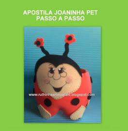 Estou vendendo a Apostila Joaninha Pet (PAP), com 16 fotos ilustradas.