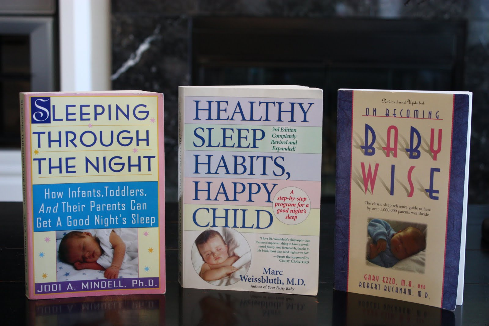 these are the three books i have learned a lot from and like the most u201cbaby wiseu201d is all about sleep training from day one personally i donu0027t agree with