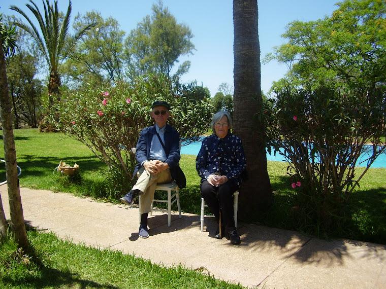 En un lugar de Africa con Rosario, el autor