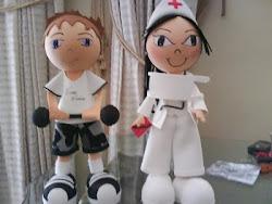 Esportista e Enfermeira