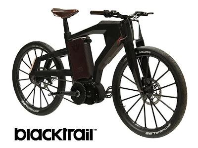 Blacktrail, bicicleta híbrida más veloz del mundo