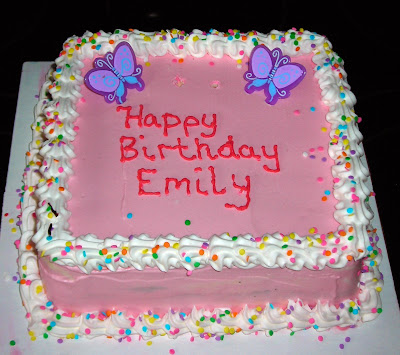 Birthday Cake Images Emily : Little Leusby: Happy Birthday Emily Grace!!!