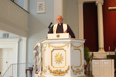 One of my last pulpit pictures
