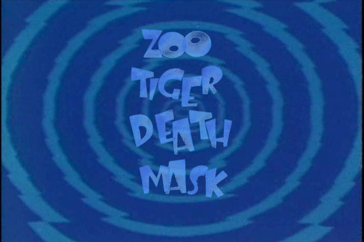 Zoo Tiger Death Mask
