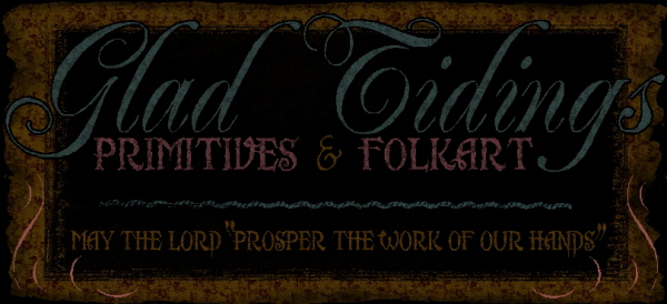 Glad Tidings Primitives & Folkart