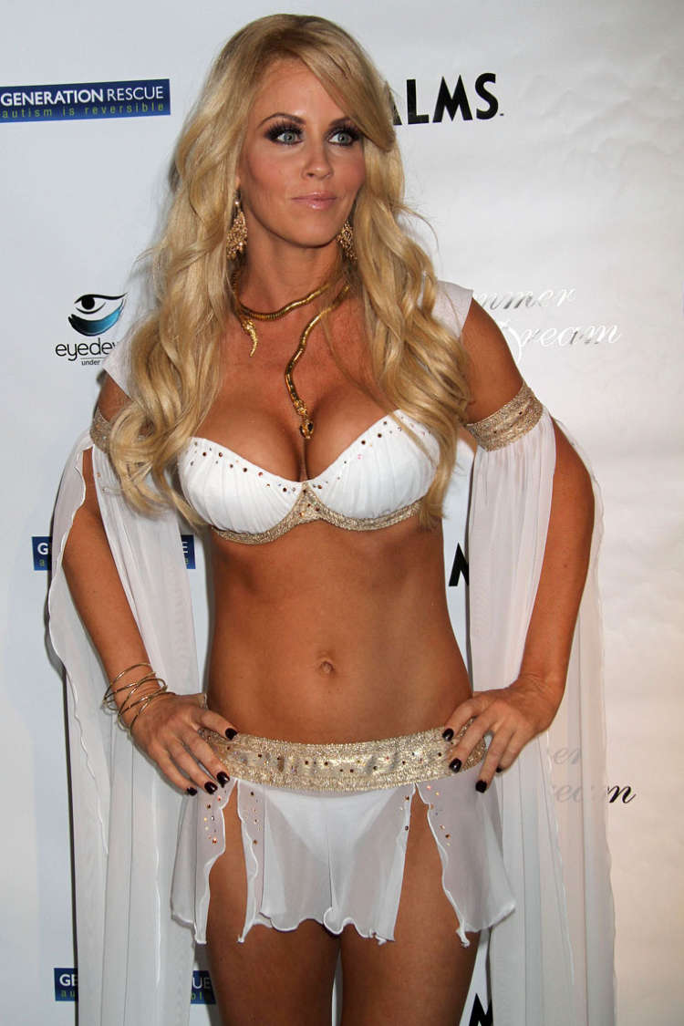 Jenny Mccarthy Has A Hairy Down Under