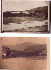 Campo do Guarany e abaixo a Ponte de Tábua