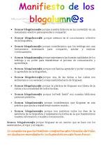 manifiesto blogalumn@s