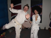 this is michael and drew at the sloans holloween party at there church