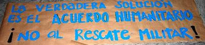 L apaz es posible con el diálogo real. Popayán, 17 de febrero de 2008