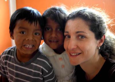 Con Yuan y Marjorie en Inzá. También en marzo, d2008