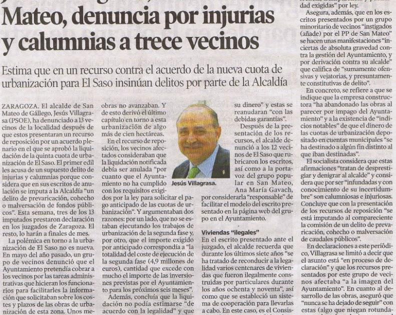 El blog de san mateo de g llego jesus villagrasa alcalde - El tiempo en san mateo de gallego ...