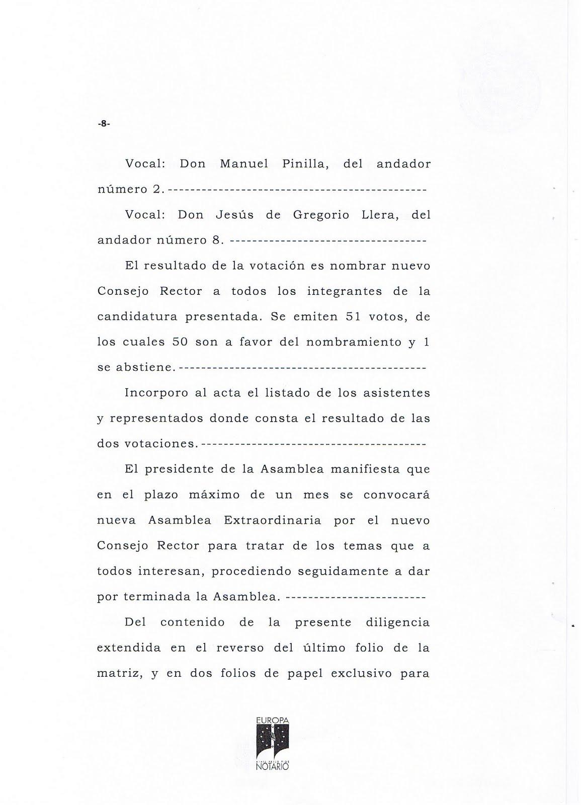 El blog de san mateo de g llego acta notarial de la - El tiempo en san mateo de gallego ...