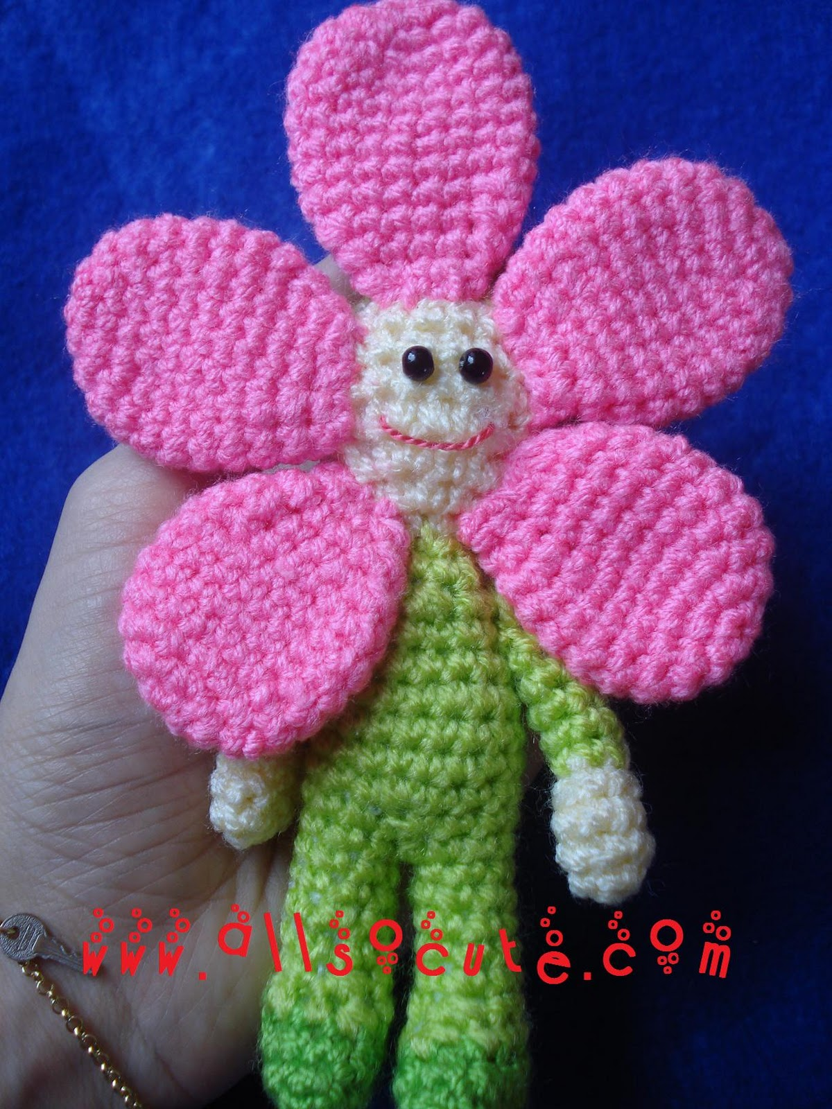 Amigurumi Flower : Allsocute amigurumis flower fairy amigurumi �i�ek perisi
